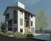 Images of project designs for New Residential designs by Andrew Lashley